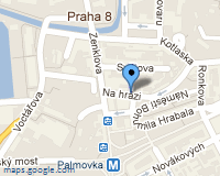 Mapa Zámečnictví Pod Palmovkou